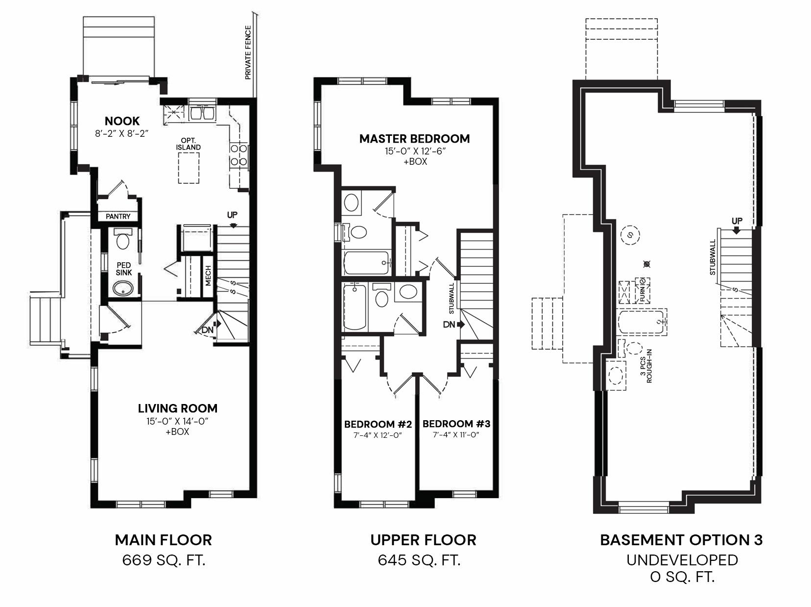 William: Floorplan A