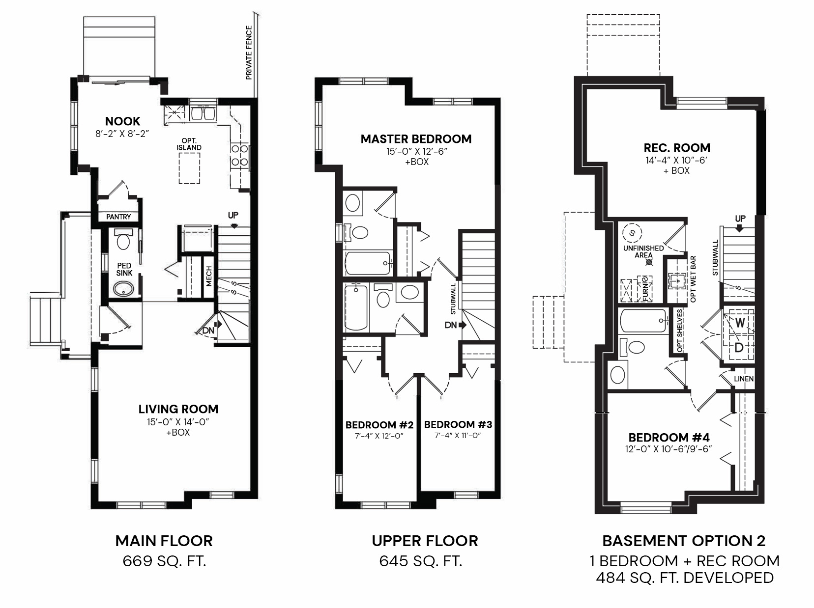 William: Floorplan A