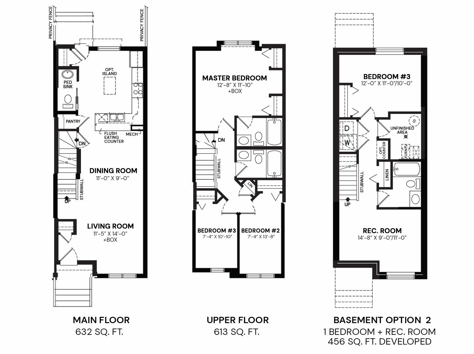 Gabriel : Floorplan B