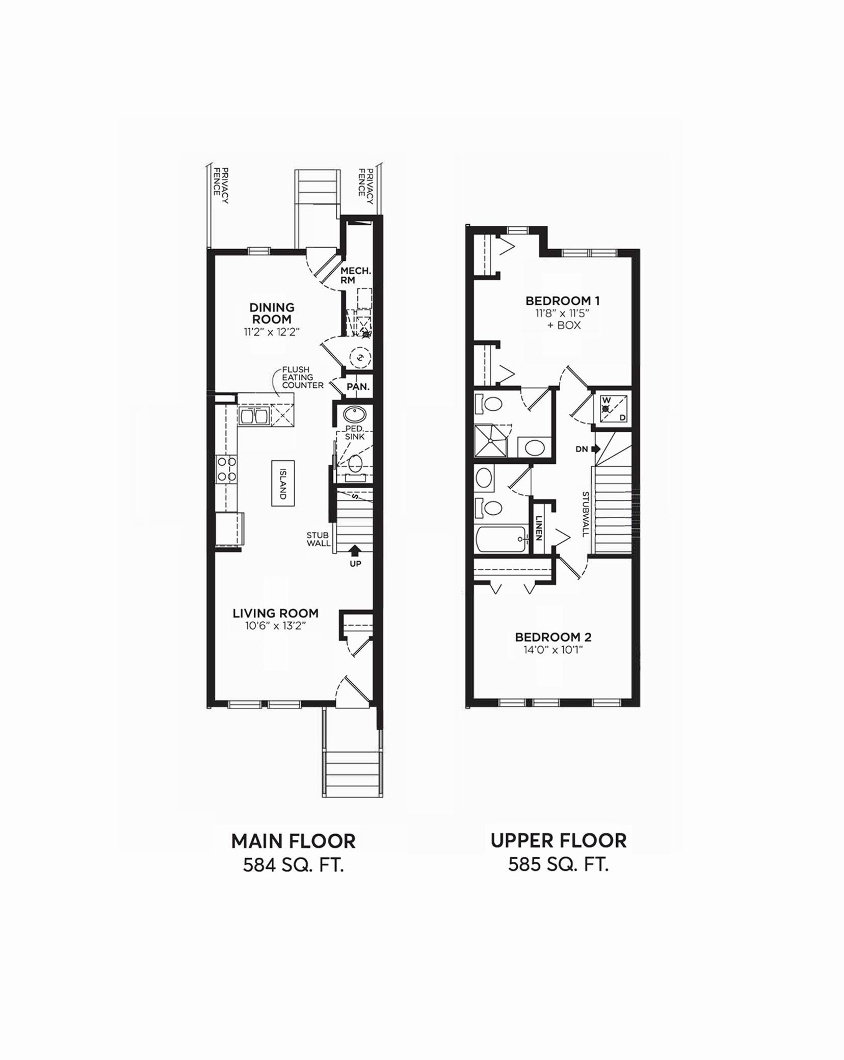 Isabella: Floorplan G