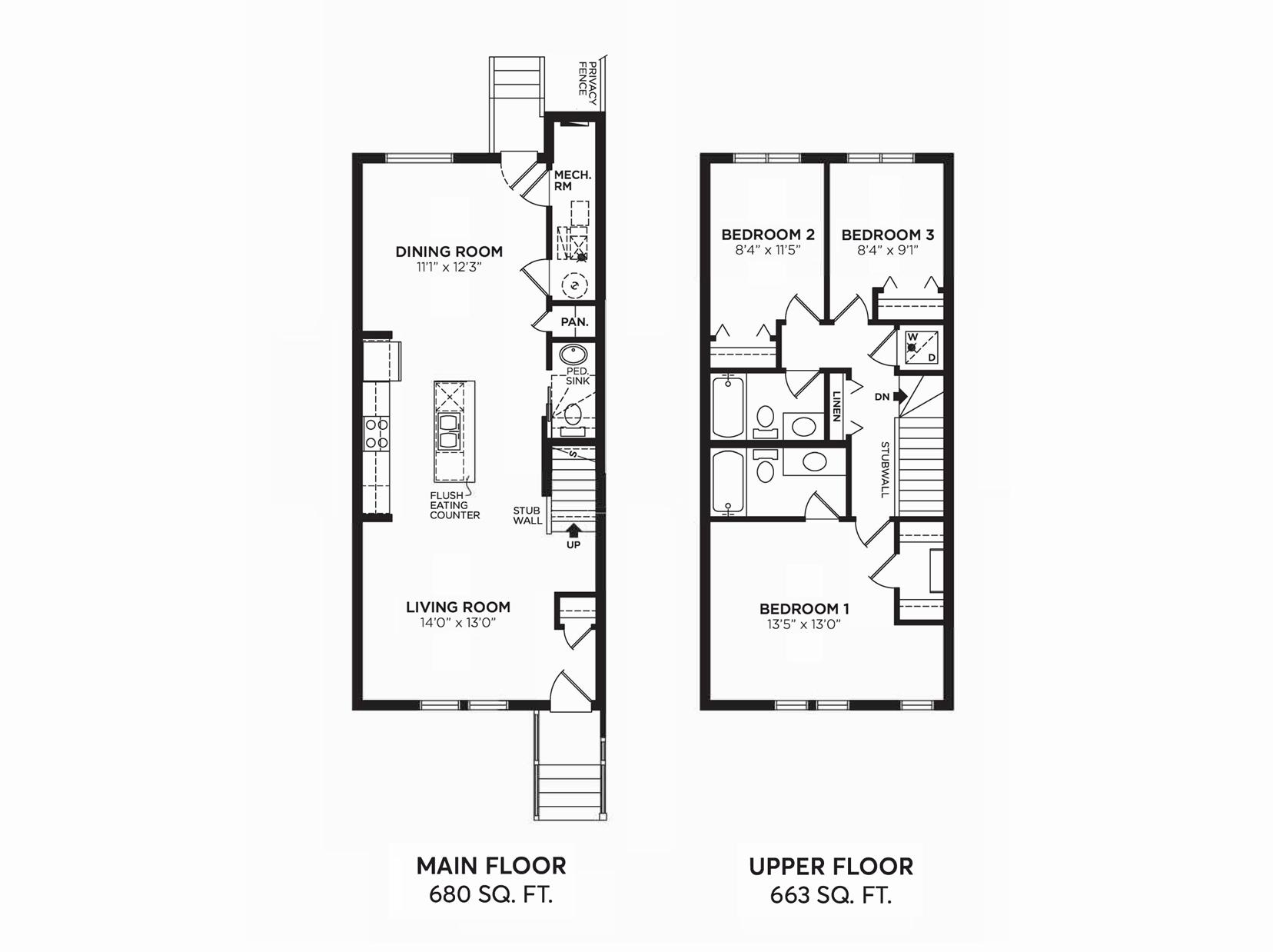 Josephine: Floorplan H