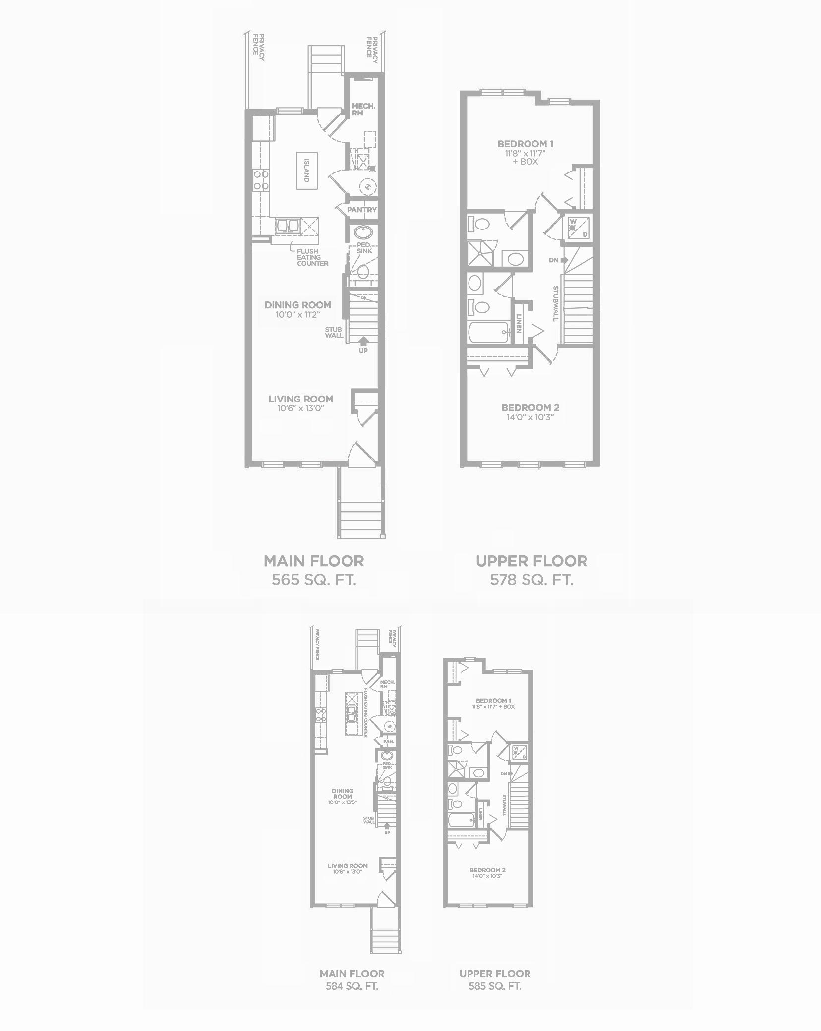 Brooklyn: Floorplan E