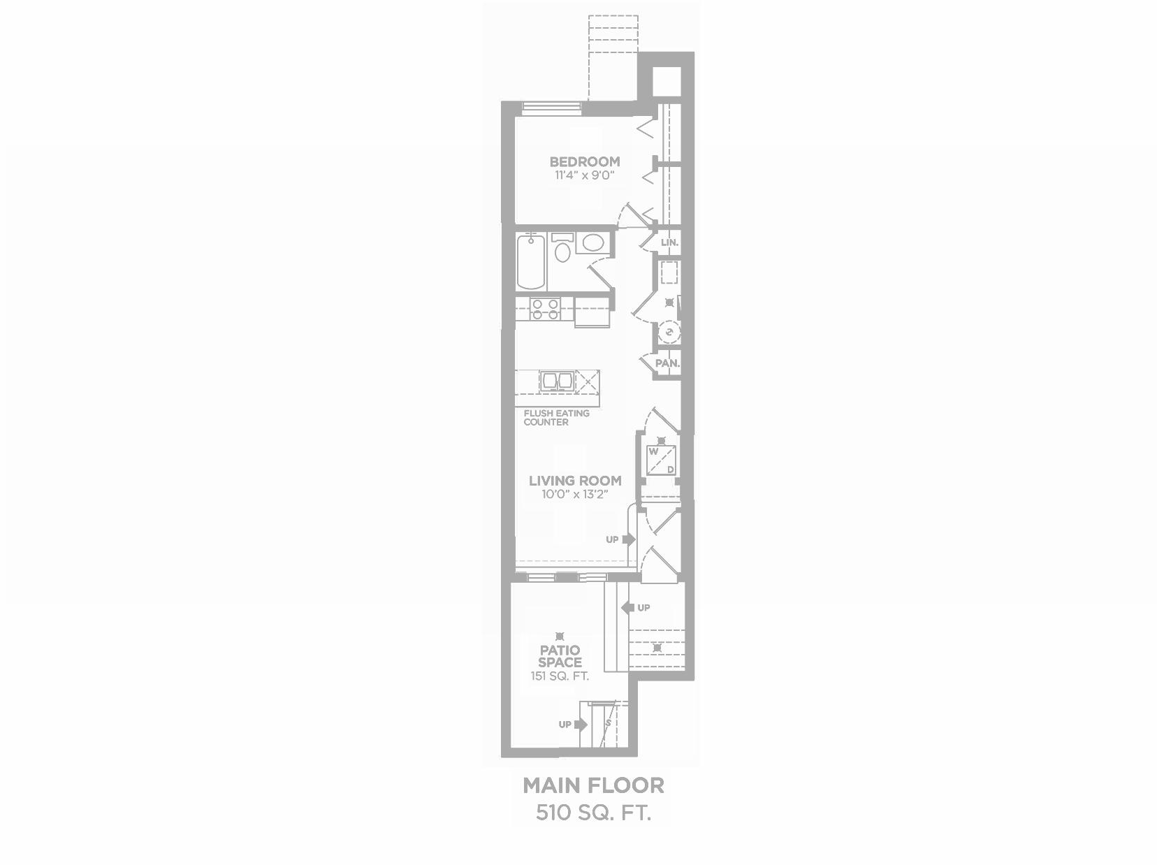 Harrison: Floorplan F1