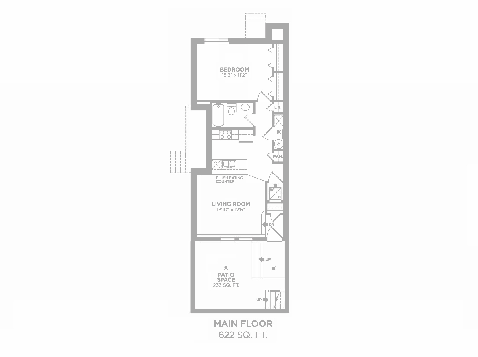 Harrison: Floorplan F3