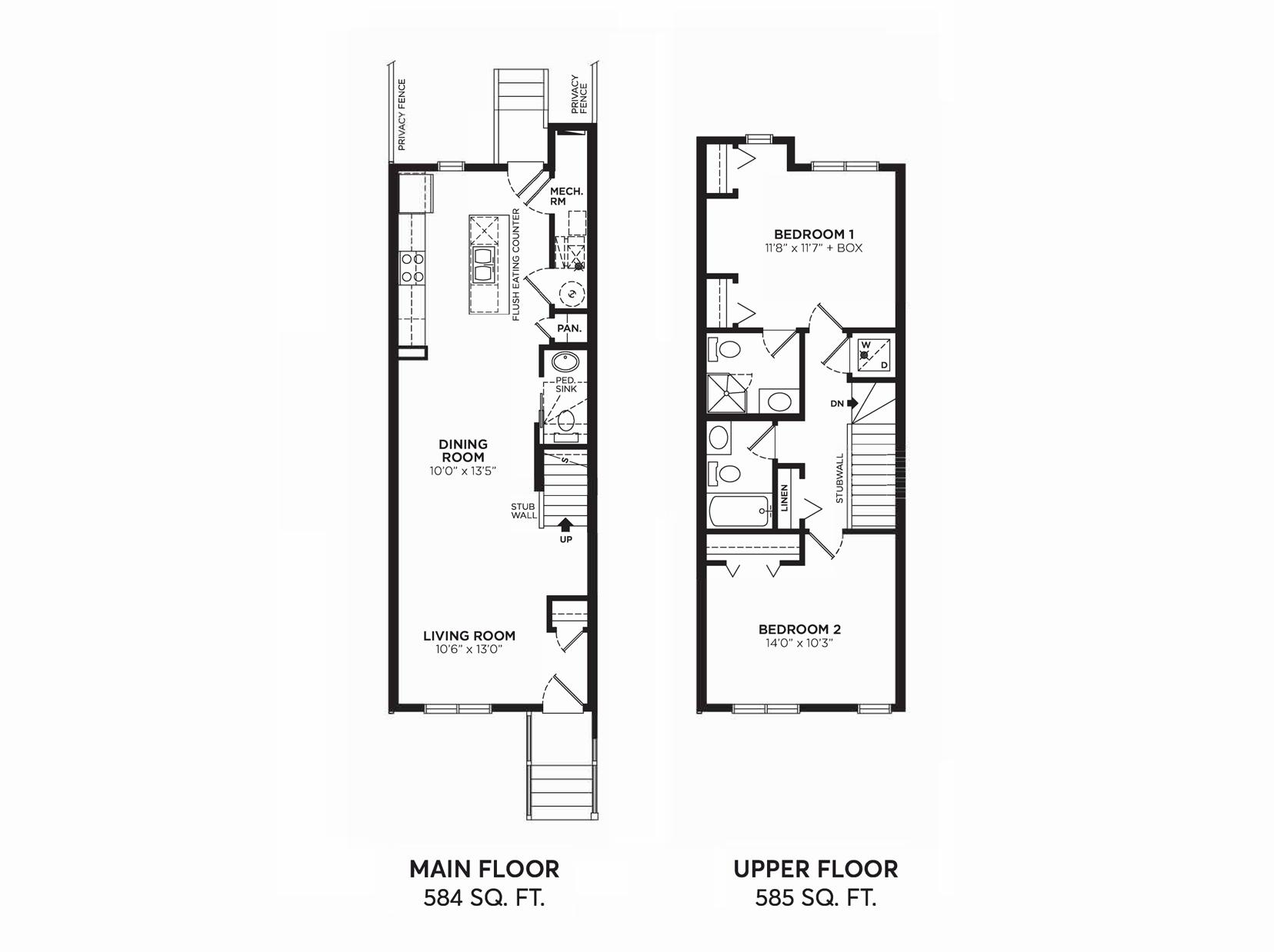 Brooklyn 2: Floorplan E2