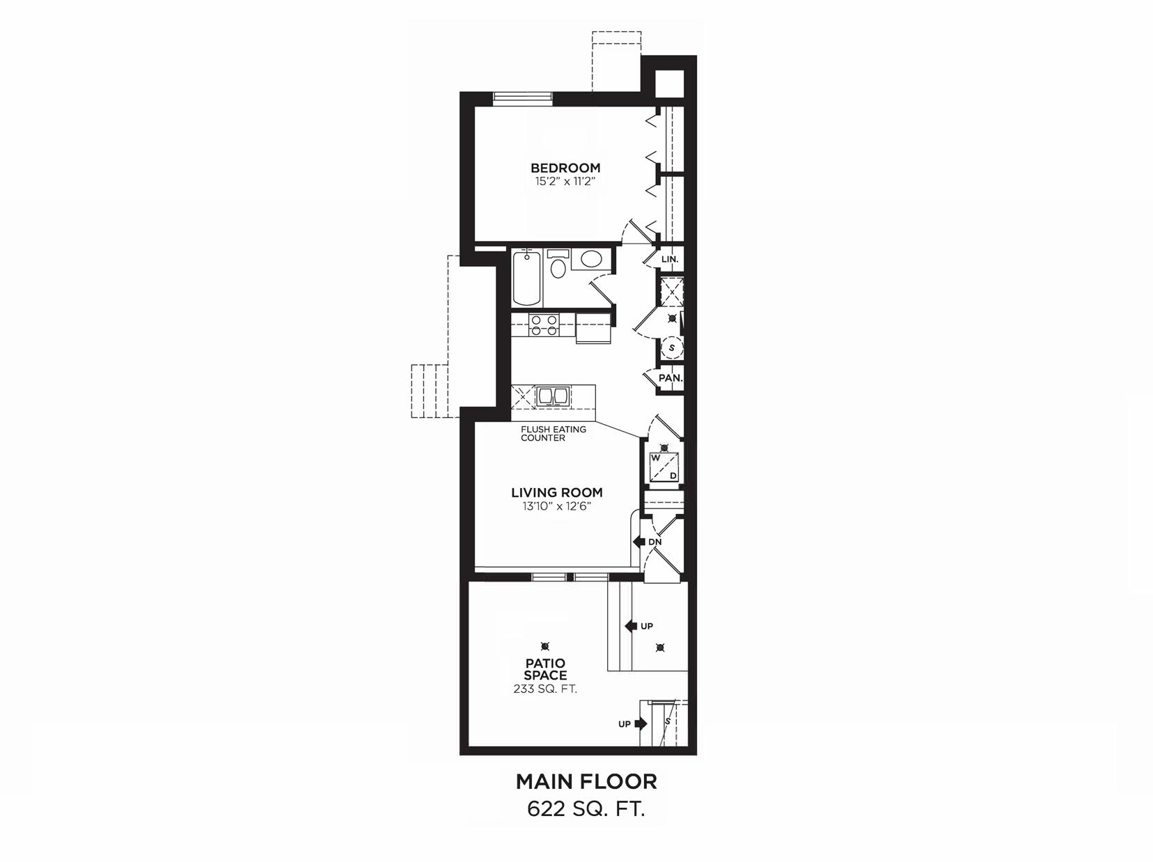 Harrison 3: Floorplan F3