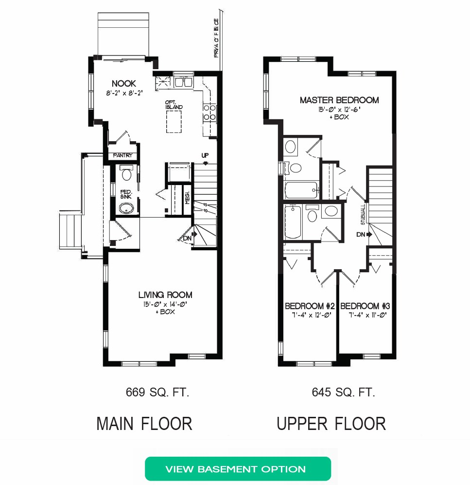 Floorplan A - 5 Bedrooms