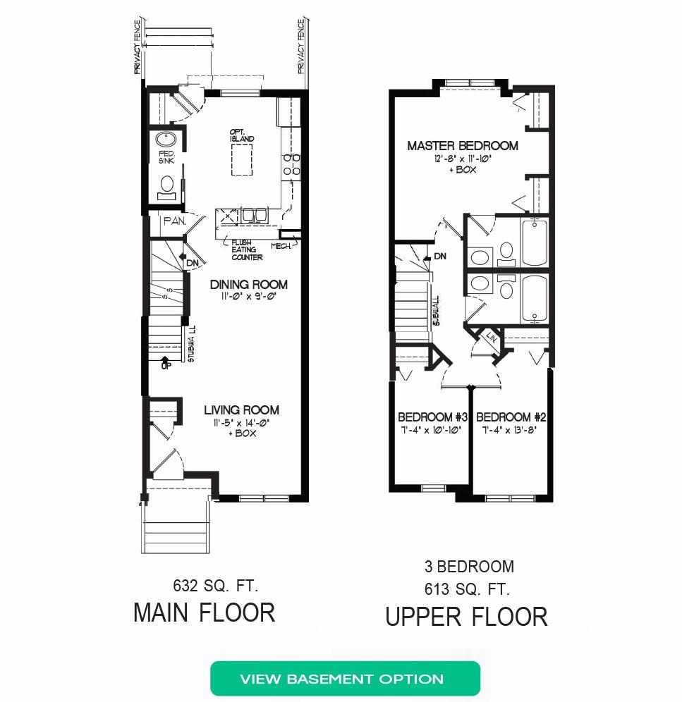 Floorplan B - 5 Bedrooms