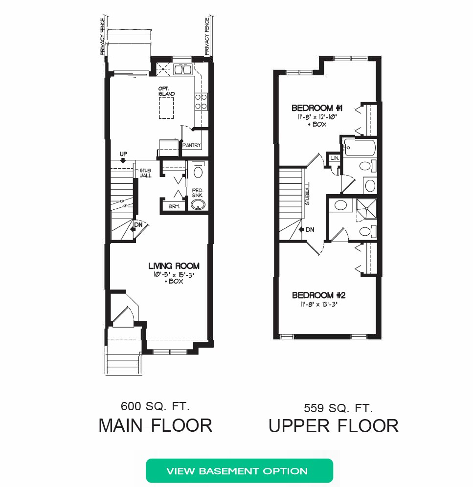 Floorplan C - 4 Bedrooms