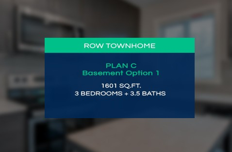 Floorplan C - 3 Bedrooms